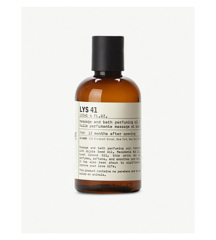 LE LABO Lys 41 bath and body oil 120ml