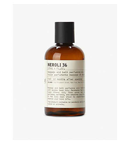 LE LABO Neroli 36 bath and body oil 120ml