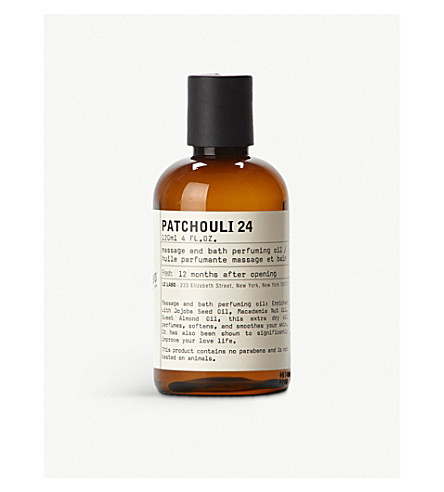 LE LABO Patchouli 24 bath and body oil 120ml