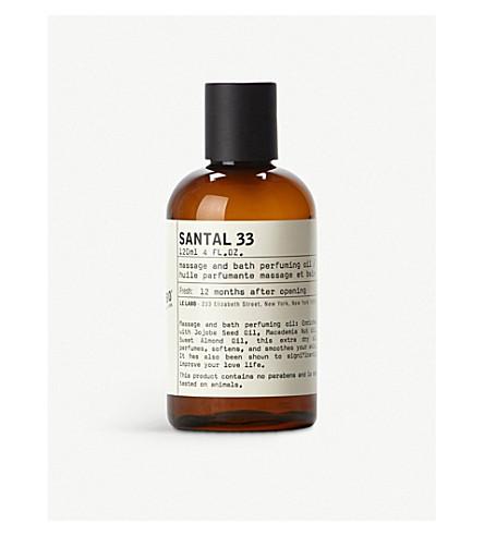 LE LABO Santal 33 bath and body oil 120ml