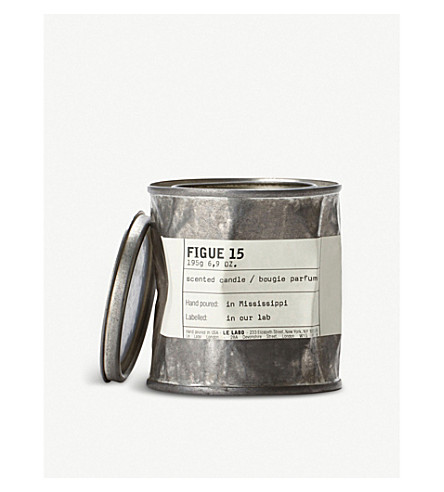 LE LABO Figue 15 scented vintage candle