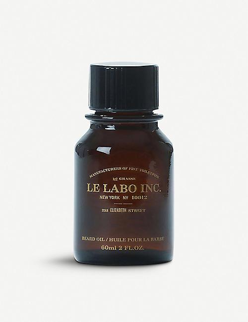 LE 实验室胡子油 60 毫升