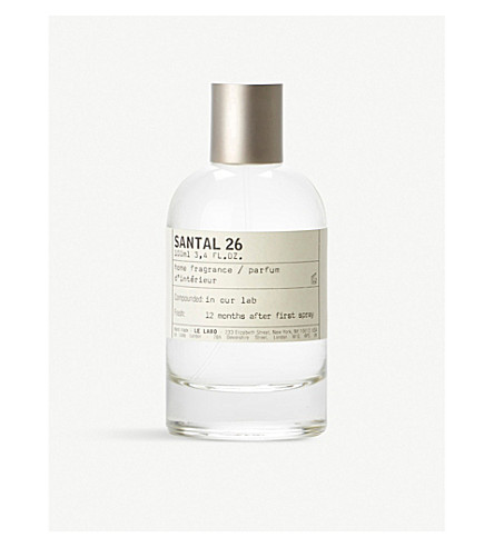 LE LABO Santal 26 Home Fragrance 100ml
