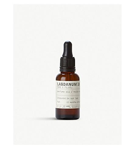 LE LABO Labdanum 18 Perfume Oil 30ml