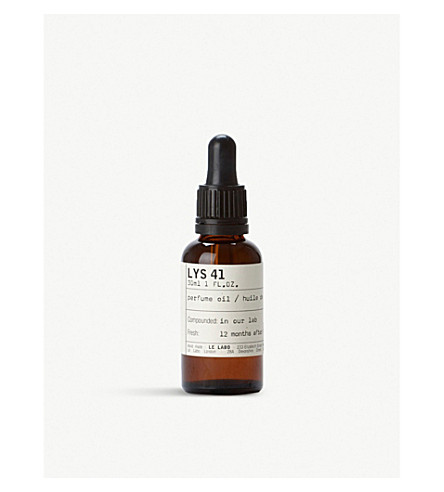 LE LABO Lys 41 Perfume Oil 30ml