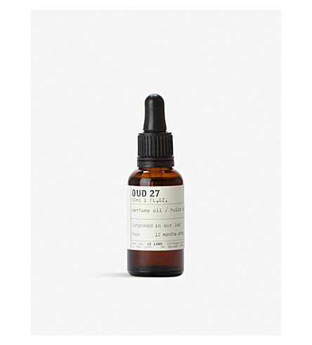 LE LABO Oud 27 Perfume Oil 30ml