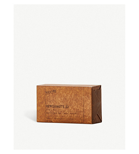 LE LABO Bergamote 22 scented body bar 225g