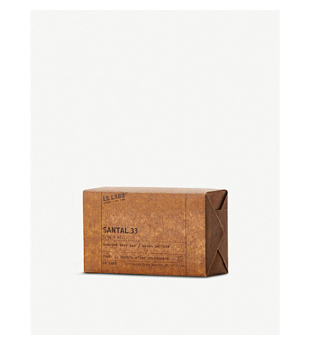 LE LABO Santal 33 scented body bar 225g
