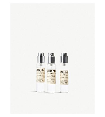 LE LABO Ambrette 9 Eau de Parfum Travel Tube Refills 3x10ml