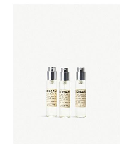 LE LABO Bergamote 22 Eau de Parfum Travel Tube Refills 3x10ml