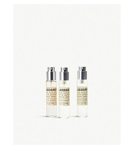 LE LABO Labdanum 18 Eau de Parfum Travel Tube Refills 3x10ml