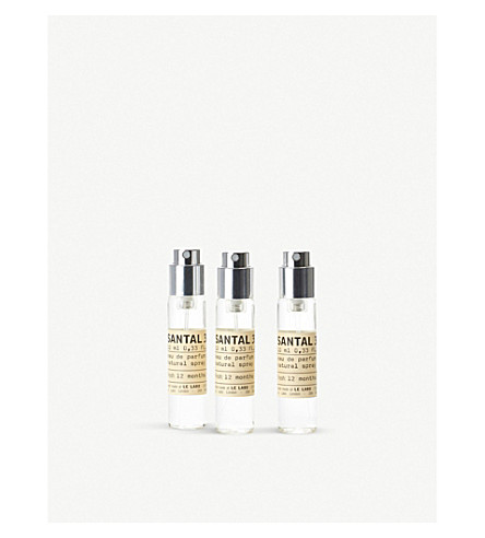 LE LABO Santal 33 Eau de Parfum Travel Tube Refills 3x10ml