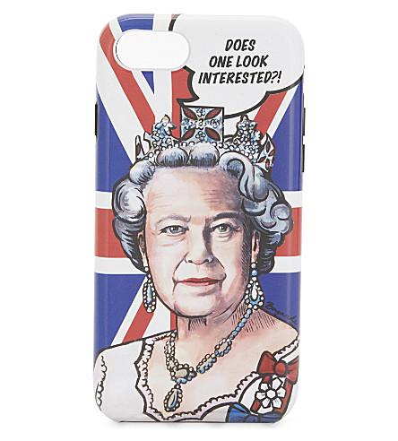 BOYARDE Queen iPhone 7 case (Blue