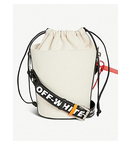 OFF-WHITE X BYREDO Off-White c/o Virgil Abloh x Byredo Aadya canvas bucket bag (Natural/black