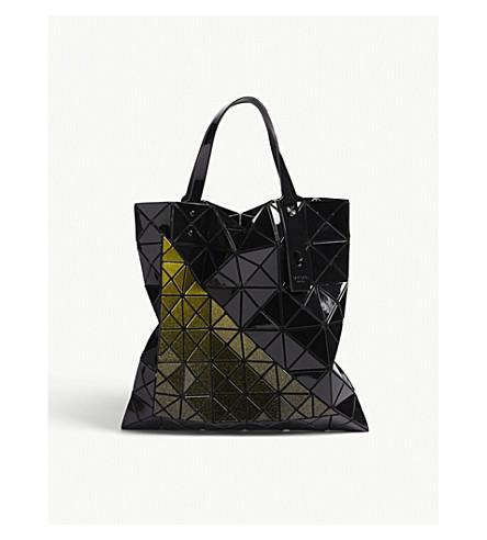 BAO BAO ISSEY MIYAKE Mado tote bag (Black/blue