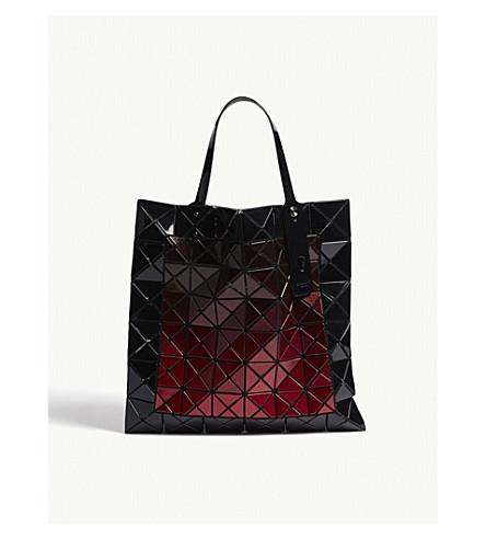 BAO BAO ISSEY MIYAKE Mado Prism tote (Black/red