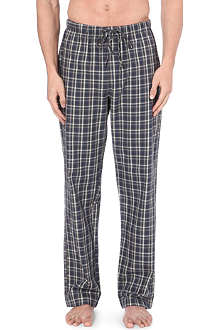 HANRO Check flannel trousers