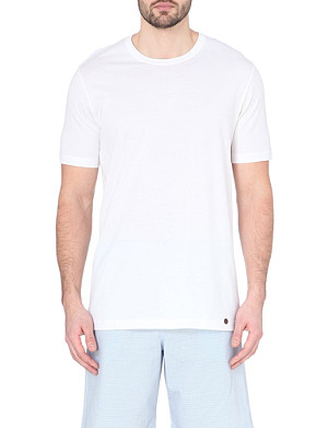 HANRO Basic cotton t-shirt