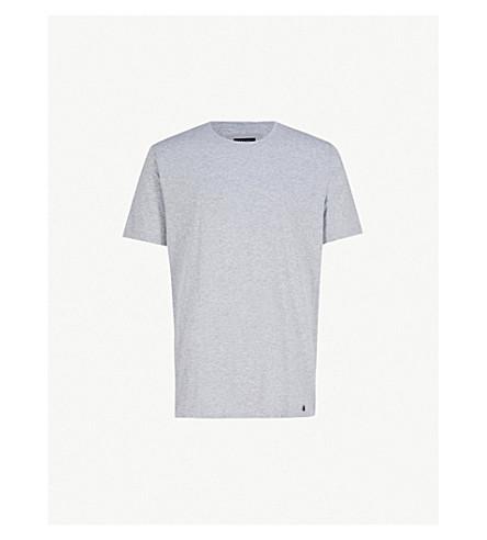 HANRO Superior crewneck t-shirt (Silver melange