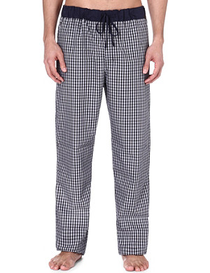 HANRO Cotton check trousers