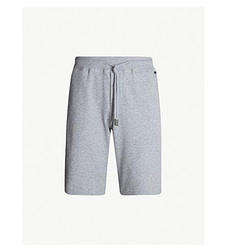 HANRO Solid cotton-jersey shorts (Grey