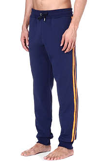 VERSACE Striped jogging bottoms