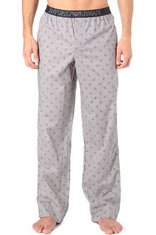 ARMANI Cotton pyjama bottoms