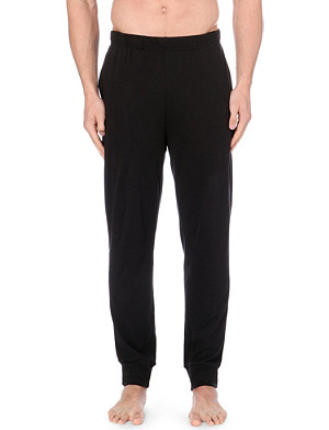 EMPORIO ARMANI Logo jersey pyjama trousers
