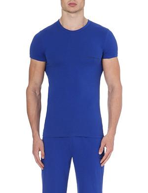 EMPORIO ARMANI Logo jersey t-shirt