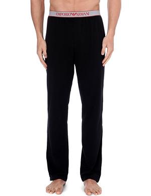 EMPORIO ARMANI Logo-waistband pyjama trousers