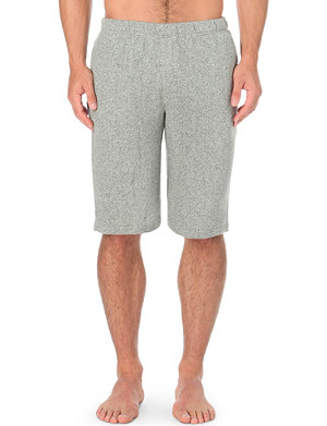 EMPORIO ARMANI Cotton sweat shorts