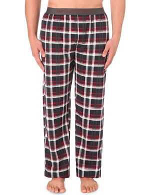 EMPORIO ARMANI Printed cotton pyjama bottoms