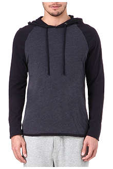 JAMES PERSE Baseball cotton hoodie