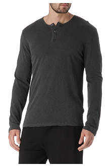 JAMES PERSE Long-sleeved henley top