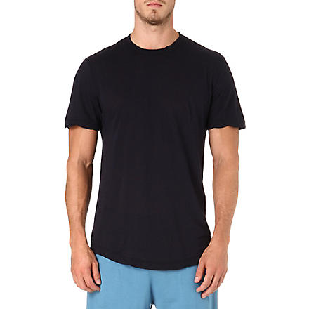 JAMES PERSE Crew-neck cotton t-shirt (Midnight