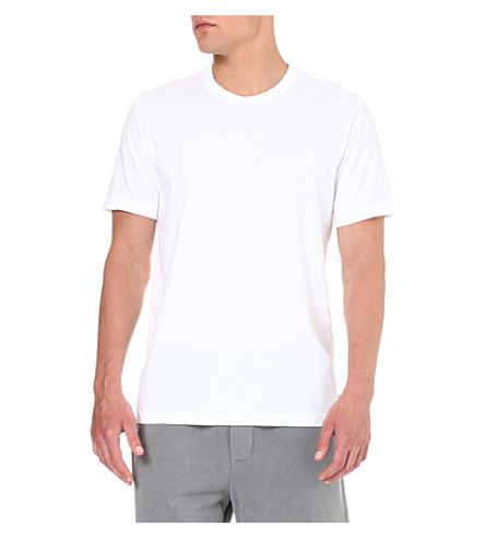 JAMES PERSE Combed-cotton t-shirt (White