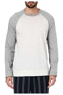 JAMES PERSE Striped cotton t-shirt