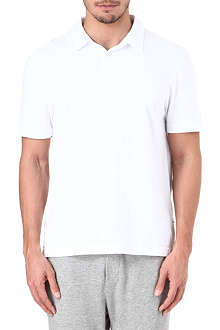 JAMES PERSE Cotton-jersey polo shirt