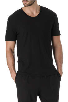 JAMES PERSE Slub-jersey v-neck t-shirt