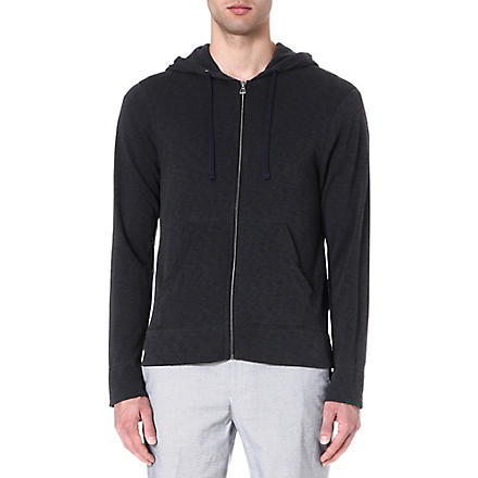 JAMES PERSE Fleece hoody (Carbon