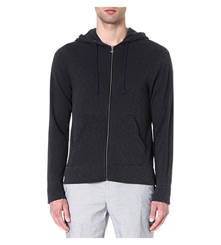 JAMES PERSE Fleece hoody (Carbon
