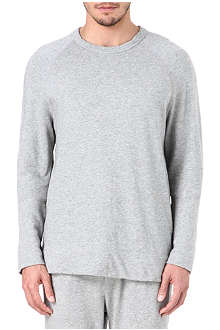 JAMES PERSE Fleece raglan sweatshirt