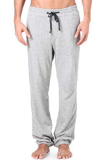 JAMES PERSE Cotton-blend jogging bottoms