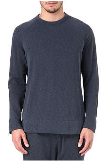 JAMES PERSE Long-sleeved fleece sweatshirt