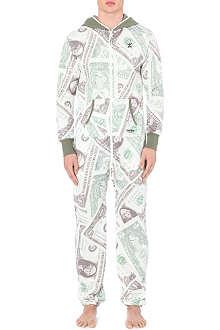 ONEPIECE Dollar jersey onesie