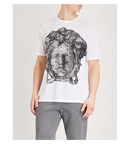 VERSACE Medusa jersey T-shirt (White