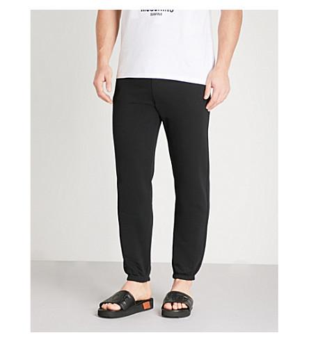 MOSCHINO Sunset cotton-jersey jogging bottoms (Black