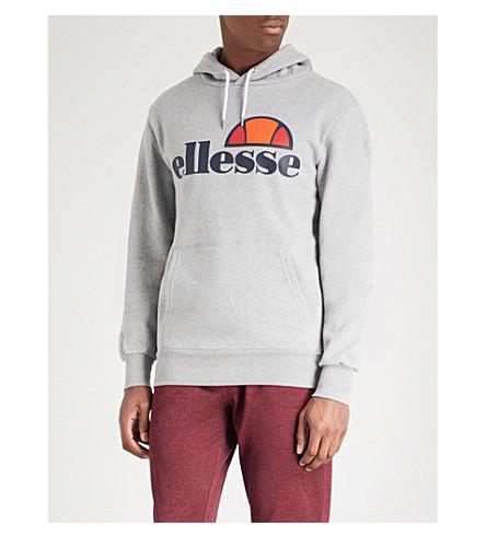 ELLESSE Gottero 徽标-打印棉混纺餐饮 (灰色