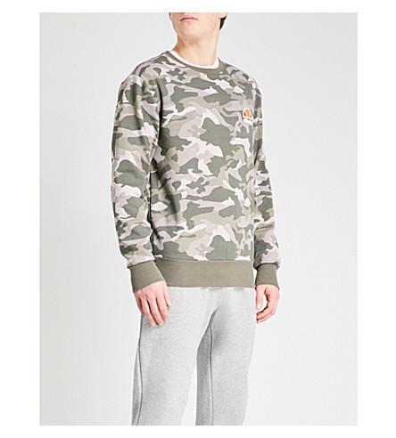ELLESSE Camouflage-patterned jersey sweatshirt (Camo