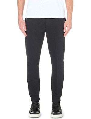 DIESEL Cotton-jersey jogging bottoms